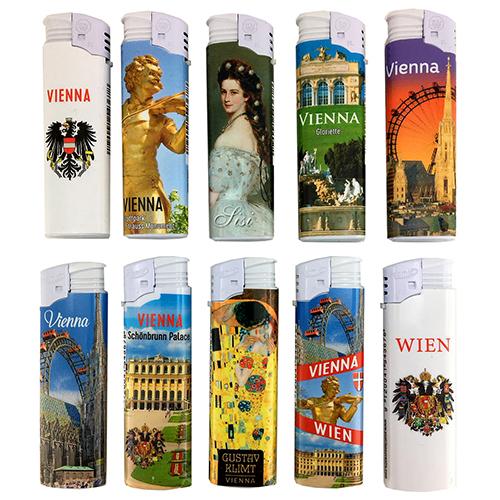 F2 Wien F2 Fuerzeug Set mit 5 x 10 Stadt Motiven 0,55 (Bild2)