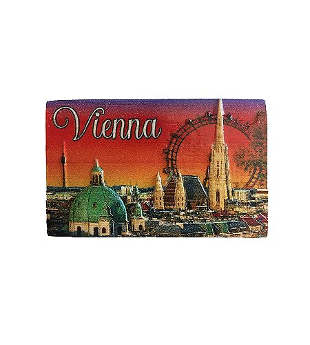 Wien bei Nacht - Souvenir Magnet